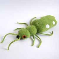 Terrence the Tiger Beetle 1 by WeirdBugLady