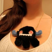 Monstroctopus necklace by loveandasandwich
