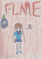 Flame volume 1 cover by lovelight27