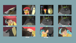 Totoro Bus Stop Thumbnails by Flutter-Butter