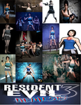 Julia Voth as Jill Valentine cosplay collage by IronCobraAM