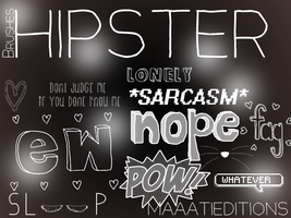Hipster Brushes by MaaatiEditions