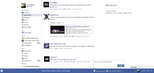 Facebook Graph Search 'Blue Bar' Redesign Concept by jacobward1