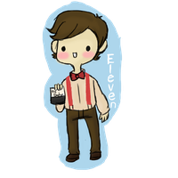 Keychains: Eleventh Doctor by iiRegenerate