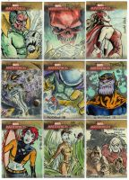 Marvel Masterpiece Cards 2 by mothbot