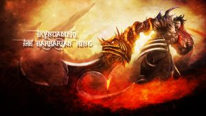 LoL - DemonBlade Tryndamere Wallpaper ~xRazerxD by xRazerxD