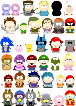 South Park Super Smash Bros. by simplexcalling