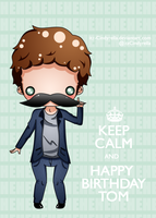 Keep Calm and Happy Birthday! by itz-Cindyrella