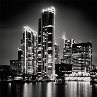 London Canary Wharf by xMEGALOPOLISx