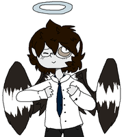 eyy lil angel boy by Puddin-Head