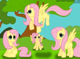 Fluttershys EVERYWHERE by Leslers