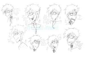 Dedrick expression practice by Cryej