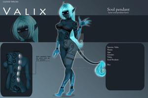 (closed) Auction Adopt - Female Valix 41 by CherrysDesigns