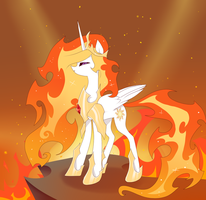 Queen of Sun (Solar Flare) by Cosmichat