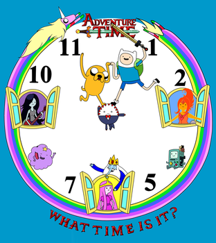 What Time is It!? by Ichigokitten
