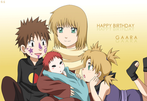 HBD Gaara by Endless-Rainfall