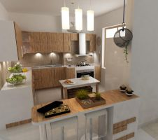 kitchen design by shahrzadabtahi