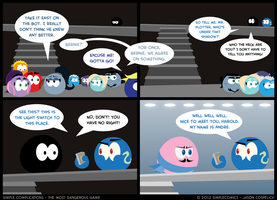 SC238 - Most Dangerous Game 38 by simpleCOMICS