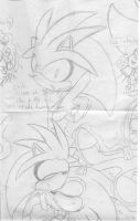 Weird Silver sketch middle by SonicMiku