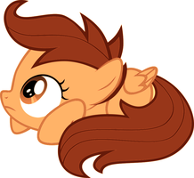 Scootaloo in brown by small3907