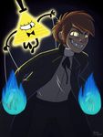 Gravity Falls: Bipper by WithABlink