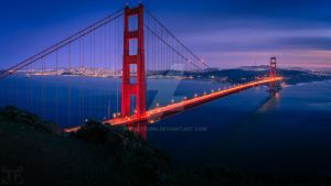 Golden Gate Bridge by ThatFunk