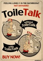 ToileTalk Fake Ad by roberlan