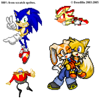 OH NO GUYS SPRITES RUN by bendilin
