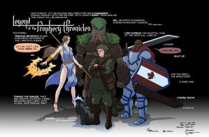 Legend of the Prophecy Chronicles by MrAverage