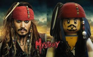Jack Sparrow Lego by MMystery92