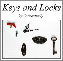 keys ,locks and clock hands by conceptually