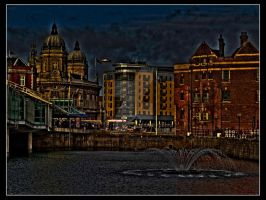 Hull Town Centre HDR by DarkNightZ24