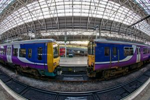 Manchester Piccadilly station 2 by Engazung