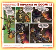 Cupcakes of Doom Part 2 by raisegrate