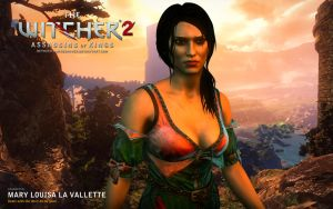 Witcher 2. Mary Louisa La Valette by JakeCarver