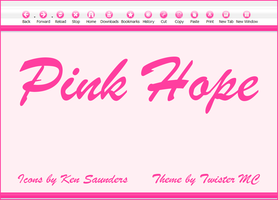 Pink Hope Firefox Theme by KenSaunders