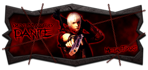 Devil May Cry 3 - Dante Signature Remade by TxusMetal4ever