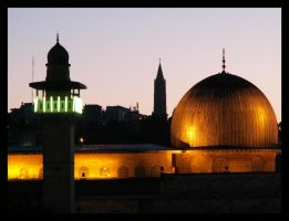 Jerusalem Lights by hbrodsly