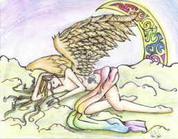 Mama Monster Our Angel by TimelessReference
