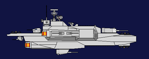 Minchet Class Missile Frigate by Toby-Phealin