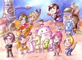 Final Fantasy by Gigei