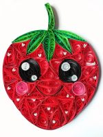 Quilling - Strawberry by Sszymon14