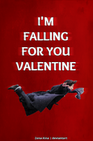 Falling For You- Sherlock Valentine Card by Zena-Xina