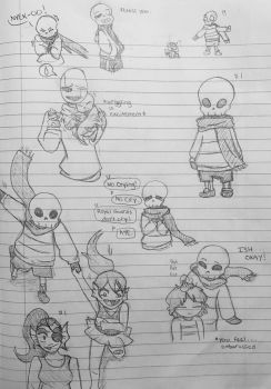 Babybones Papyrus by TheGoldenMember123