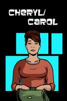 Cheryl/Carol iPhone Wallpaper by Mikeyj110