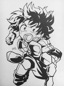 Deku / Izuku Midoriya by step-on-mee