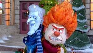 Snow Miser And Heat Miser by CaresseChris