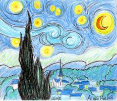 Homenaje a Van Gogh by rolthomaster
