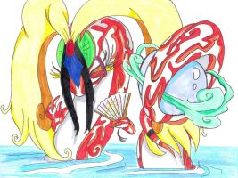 :Okami: Celestial Dragon by Clytemnon