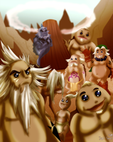 Day 11 - Gorons by CelticMagician